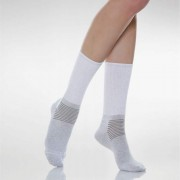 DIABETIC X-STATIC Kratke čarape za dijabetičare sa srebrnim nitima
