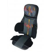 SU-5990 Deluxe Full Back & Neck Heated Shiatsu Massage Cushion with Air Pressure