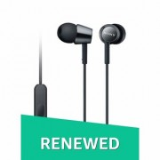 (Renewed) Sony MDR-EX150AP1 In-Ear Headphones with Mic (Special Black)