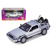 Welly Back to Future the DeLorean Time Machine Die-Cast Vehicle