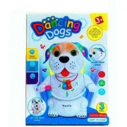 Shribossji Dancing Dog Toy With Music Light For Kids (Multicolor)