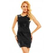Černé dámské letní šaty Luxestar