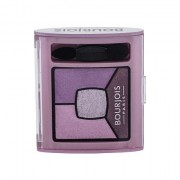 BOURJOIS Paris Smoky Stories Quad Eyeshadow Palette palette di ombretti 3,2 g tonalità 07 In Mauve Again donna