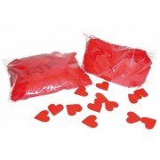 Merkloos Valentijn confetti rode hartjes