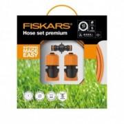 """Set furtun de gradina Fiskars Q4, 9mm (3/8""""), 15m"""