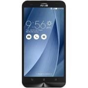 "Telefon Mobil Asus Zenfone 2 Laser ZE550KL, Procesor Quad-Core 1.2GHz, IPS Capacitive touchscreen 5.5"", 2GB RAM, 16GB Flash, 13MP, Wi-Fi, 4G, Dual Sim, Android (Argintiu) + Cartela SIM Orange PrePay, 6 euro credit, 6 GB internet 4G, 2,000 minute nationale"