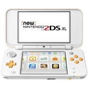 New Nintendo 2DS XL white orange