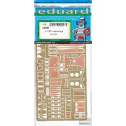 EDU32399 1:32 Eduard PE - B-17E B-17F Flying Fortress Undercarriage Detail Set (for use with the HK Models kit) MODEL KIT ACCESSORY