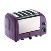 DUALIT grille-pains 4 fentes prune - 47054