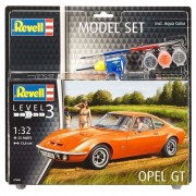 Revell Model-Set Opel Gt - Maquette