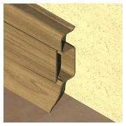 PBC505 - Plinta PROLUX din PVC culoare stejar vechi pentru parchet 50 mm