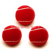CRICKET TENNIS BALL (PACK OF 3 PIECES)