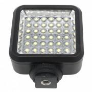 W36 4W 36-LED de luz de camara de video para Canon? Nikon-Negro