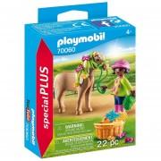 Playmobil Special Plus - Nena Con Pony - 70060