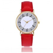 LASPERAL Musical Note Quartz casual wristwatch (women)
