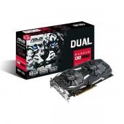 VGA Asus Dual series Radeon RX 580 8GB, AMD RX580, 8GB, do 1360MHz, DP 2x, DVI-D, HDMI 2x, 36mj (Dual-RX580-8G)