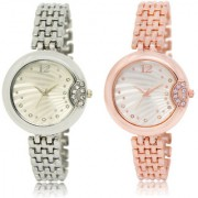 The Shopoholic Silver Combo Latest Collection Fancy And Attractive Silver Dial Analog Watch For Girls Girl Watches Stylish