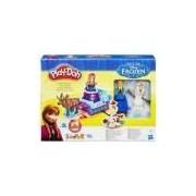 Brinquedo Conjunto Play-Doh Hasbro Treno Frozen - B1860