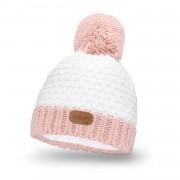 Zimowa czapka dziewczęca PaMaMi - Biały