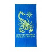 Scorpion Bay Telo Mare Scorpione Taglia: Unica Uomo Colore: Azzurro ABT3301-12