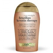 OGX 30 Day Smoothing Treatment Ever Straight Brazilian Keratin Therapy 3.3oz