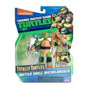 Teenage Mutant Ninja Turtles 5 Xxx Battle Shell Michelangelo Basic Action Figure