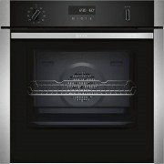 Neff N50 B5ACM7HN0B Single Built In Electric Oven - Stainless Steel