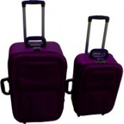 LUXOY XIPPER High Quality Imported Combo 24+20 Check-in Luggage - 24 inch(Purple)