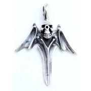 kulcstartó ezüst KOPONYA 24 - 168 - BR