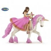 Printesa cu lira pe cal - Figurina Papo