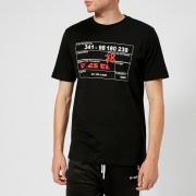 Diesel Men's Just Printed T-Shirt - Black - L - Black