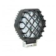 Hexagonale LED-Arbeitsleuchte mit Gitter 16 LED 48W