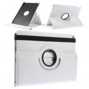 Bolsa em Pele Rotativa para iPad Air 2 - Branco