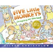 Five Little Monkeys Jumping on the Bed 25th Anniversary Edition, Hardcover/Eileen Christelow