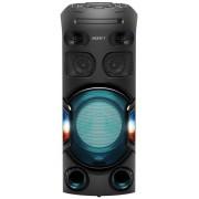 Sistem audio SONY MHC-V42D, Jet Bass Booster, Hi-Fi, Bluetooth, NFC, Dj Effects, USB, DVD, Party music, Party lights (Negru)
