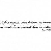stickers folies Stickers citation Oscar Wilde 2