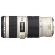 Canon EF 70 - 200 mm f/4.0 L IS USM Telephoto Lens (Black & White)