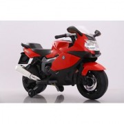 Baby Battery Operated BMW BIKE (RED) With Original Music System For Kids