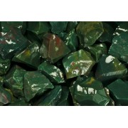 "Fantasia Materials: 1 Lb Bloodstone ""Aa"" Grade Rough (Select 1 To 18 Lbs) Raw Natural Crystals For Cabbing, Cutting, Lapidary, Tumbling, Polishing, Wire Wrapping, Wicca And Reiki Crystal Healing"