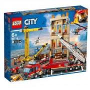 Конструктор Лего Сити - Пожарна команда в центъра - LEGO City, 60216