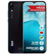 "Telefon mobil iHunt Alien X Lite 2020, Procesor Quad-Core 1.3GHz, IPS 6.1"", 1GB RAM, 16GB Flash, Camera Duala 13+5MP, Wi-Fi, 3G, Dual Sim, Android (Negru) + Cartela SIM Orange PrePay, 6 euro credit, 6 GB internet 4G, 2,000 minute nationale si internationa"