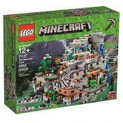 Lego Minecraft Minecraft Mountain Cave The Mountain Cave 21137
