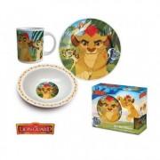 Set mic dejun 3 piese ceramica Garda Felina