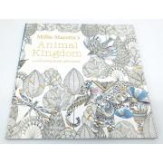 Carte de colorat antistres pentru adulti Animal Kingdom by Borealy