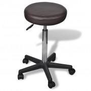 vidaXL Kancelárska stolička hnedá