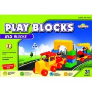 Virgo Toys Play Blocks Train Set