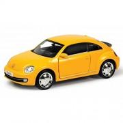 RMZ City Volkswagen New Beetle Matte Yellow 1/36 Diecast Model Car