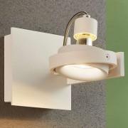 Lampenwelt.com Teska - witte spot met GU10-fitting