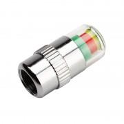 Auto Styling 2.4bar 36PSI 3 Kleur Alert Autobanden Pressure Monitor Kraandopverbindingen Sensor Indicator4 stks/partij # iCarmo