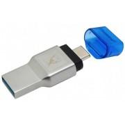 Card Reader Kingston MobileLite Duo 3C FCR-ML3C, USB 3.1 (Argintiu)